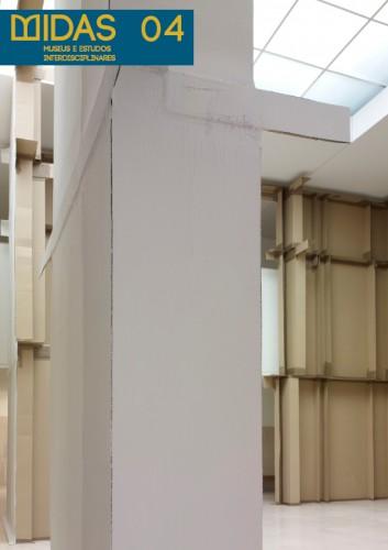 """Vista da instalação de Carlos Bunga, """"Ágora"""". Projeto SONAE/Serralves, 8 dezembro de 2012 a 3 de março de 2013. Fotografia de Filipe Braga © Fundação de Serralves – Museu de Arte Contemporânea, Porto"""
